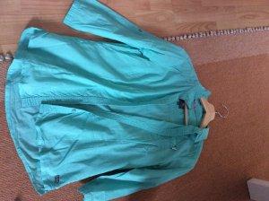Camicetta a blusa turchese Cotone