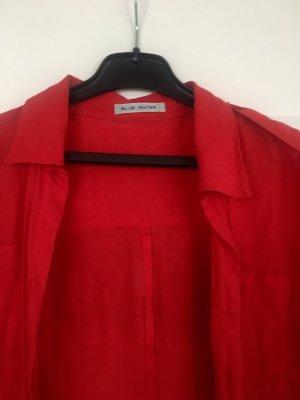 Blusen Kleid Rot