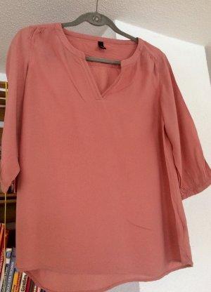 Blusen-Langarm-Shirt