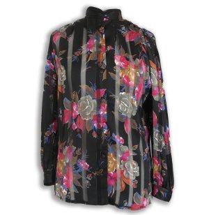 Shirt Blouse black-pink