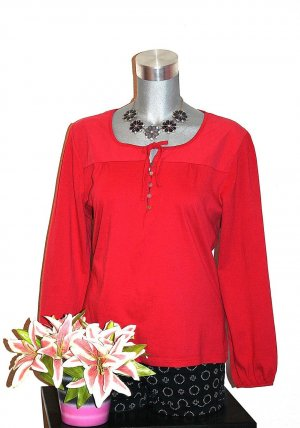 Blusen Shirt Gr.44/46 Pullover Langarmshirt