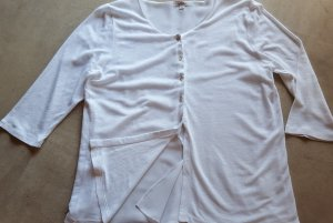 Linen Blouse white cotton
