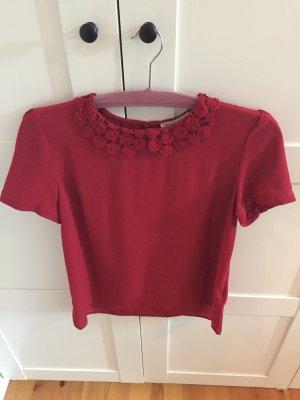 Blusen Shirt von Mint&berry rot 38