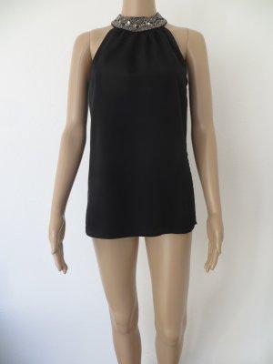 Vero Moda Mouwloze blouse zwart