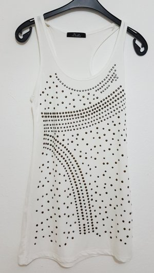Basic Top white-gold-colored
