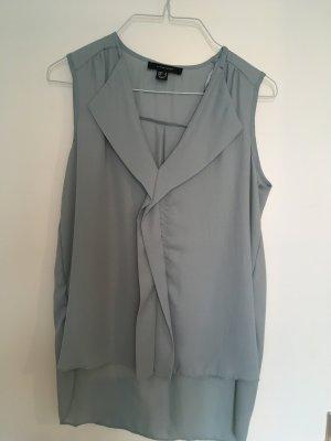 Blusen Top, Größe 38 in blaugrau