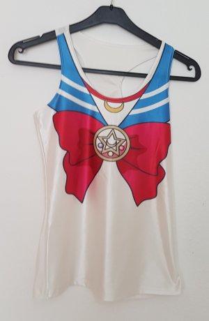 Vintage Blusa multicolore