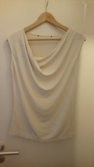 H&M Blouse Top natural white polyester