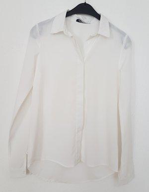 Fashion Union Cuello de blusa blanco puro-beige claro