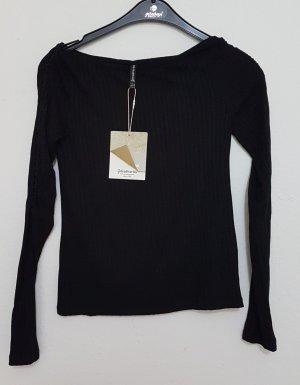 Stradivarius Lange blouse zwart