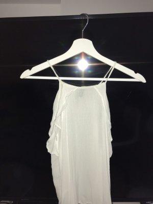 H&M Linnen blouse wolwit