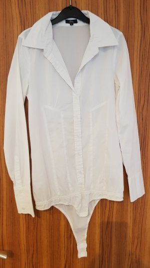 Ann Christine Bodysuit Blouse white