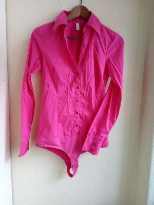 Vero Moda Bodyblouse roze-magenta