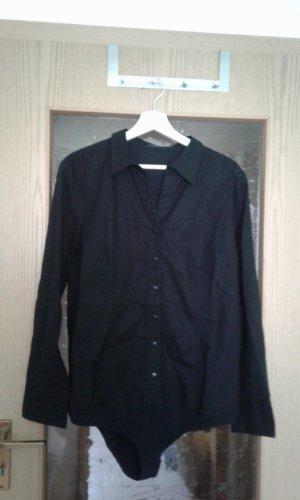 Vivance Bodysuit Blouse black cotton