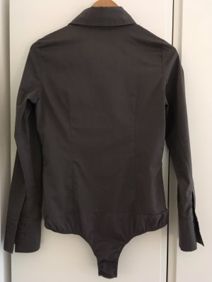 Hallhuber basic Bodyblouse antraciet