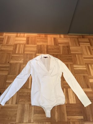 Review Bodysuit Blouse white