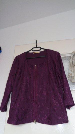 Biba Cols de blouses violet lycra