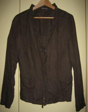 Blusenjacke aus Leinen, von Nienhaus