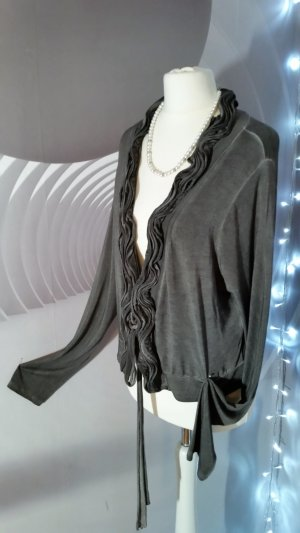 Giacca a blusa antracite Cotone