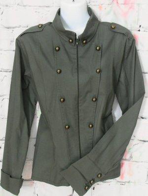 Blusenjacke im Military Look