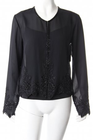 Blusenjacke with top black