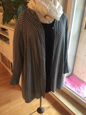 Lange blouse zwart-wit Katoen