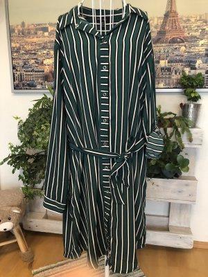 Amisu Blouse Dress white-forest green