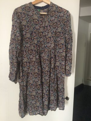 Benetton Robe Hippie multicolore