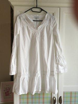 Snob Blouse Dress white cotton