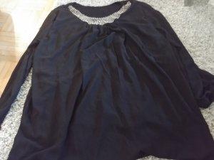 Chiffon jurk zwart
