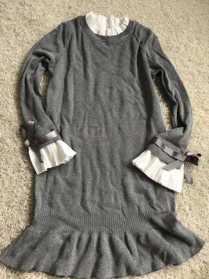 Blouse Dress grey-white