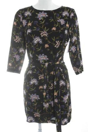 Blusenkleid Blumenmuster Business-Look