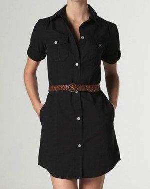 Vestido de camuflaje negro