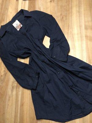 Blusenkleid dunkelblau - M