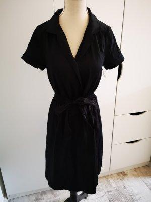 Blusenkleid im 50er Jahre Stil von H&M Schwarz Gr.34 Neu mit Etikett