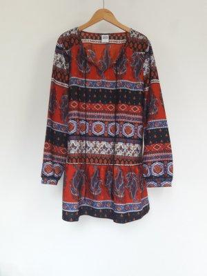 Blusenkleid im Boho-/Hippie-Stil
