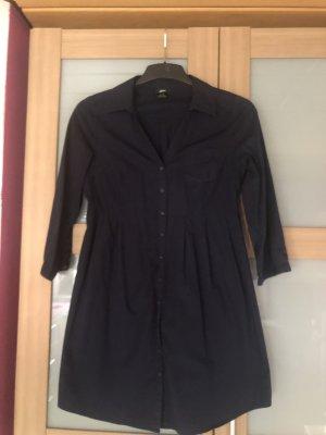 Blusenkleid in dunkelblau von H&M