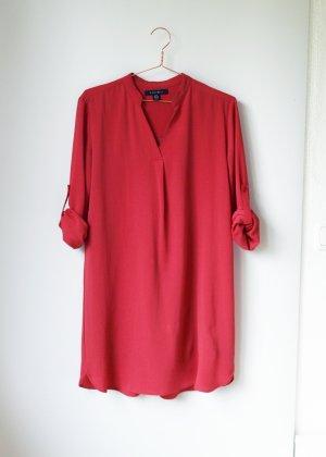 Blusenkleid in Rostrot 40 Amisu M Tunika Kleid