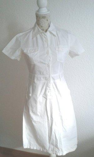 Blusenkleid in weiß, M