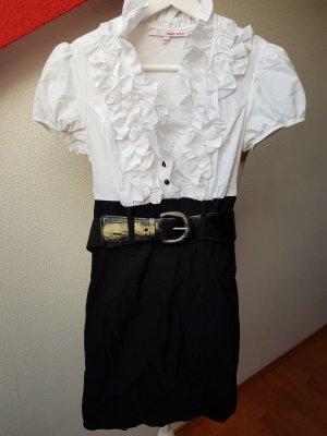 Blusenkleid mit Gürtel; Gr. XS