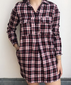 Blusenkleid mit Karo Muster