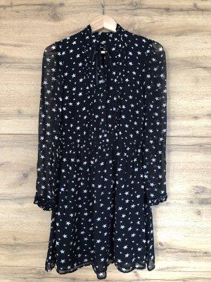 Blusenkleid mit Sternen-Print