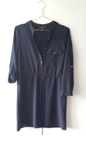 Blusenkleid Navy tailliert