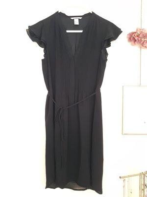 Blusenkleid schwarz H&M
