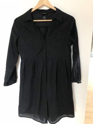 Blusenkleid schwarz / kurz oder lange Bluse