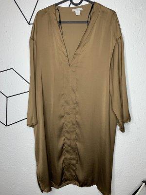 H&M Blouse brillante bronze