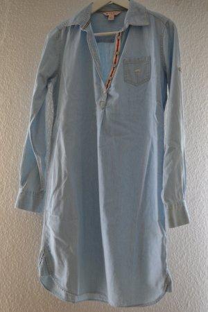 Brooks Brothers Vestido vaquero multicolor Algodón