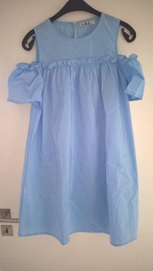 Abito blusa azzurro