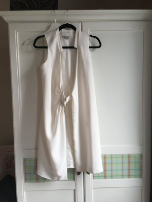 H&M Blouse Dress natural white mixture fibre