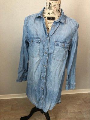 Blusenkleid von H&M in Jeansoptik Gr. 38